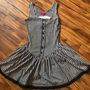 Betsey Johnson checkered dress